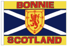 SCOTLAND BOAT FLAGS